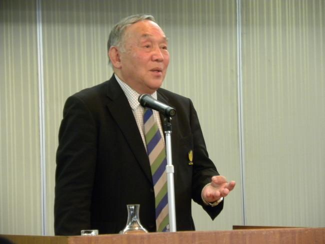 空飛ぶウイング坂田好弘氏が講演「扉が開きます」