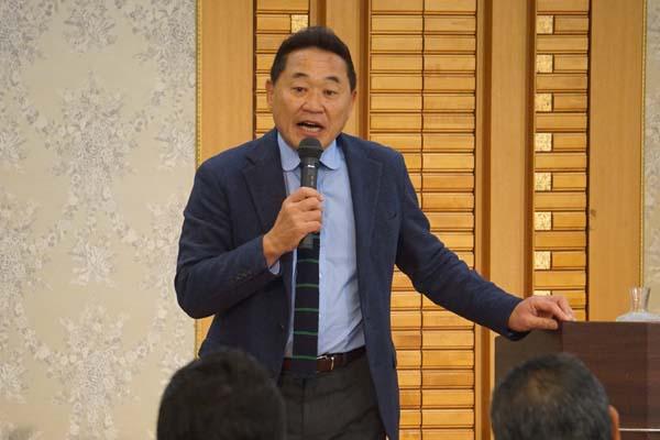 松木安太郎氏が愛知県で講演