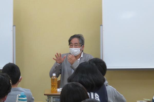 増山実氏が大阪府で講演