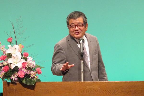 森永卓郎氏が兵庫で講演